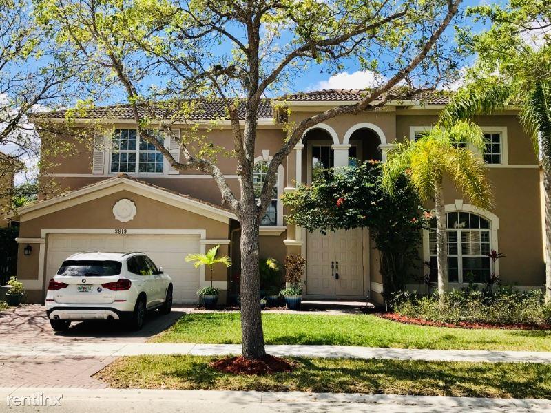 3819 W Gardenia Ave, Weston, FL - $4,000