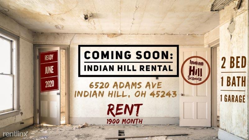 6520 Adams Ave, Cincinnati, OH - $1,900