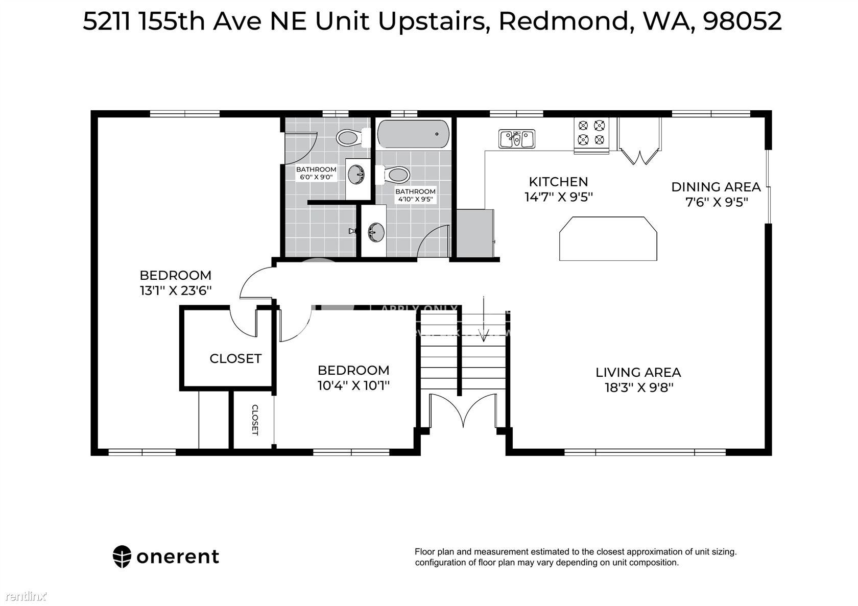 5211 155th  Avenue Northeast, Redmond, WA - $3,300