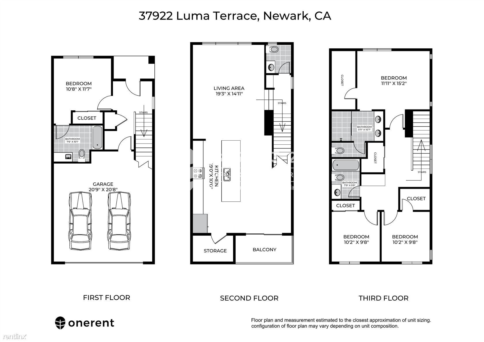 37922 Luma Terrace, Newark, CA - $3,840