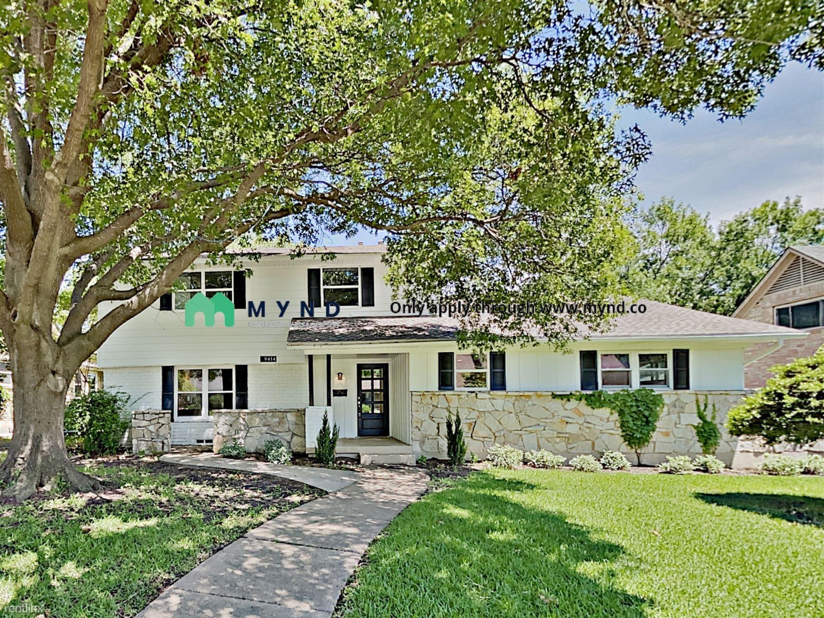 9414 Springwater Dr, Dallas, TX - $3,500