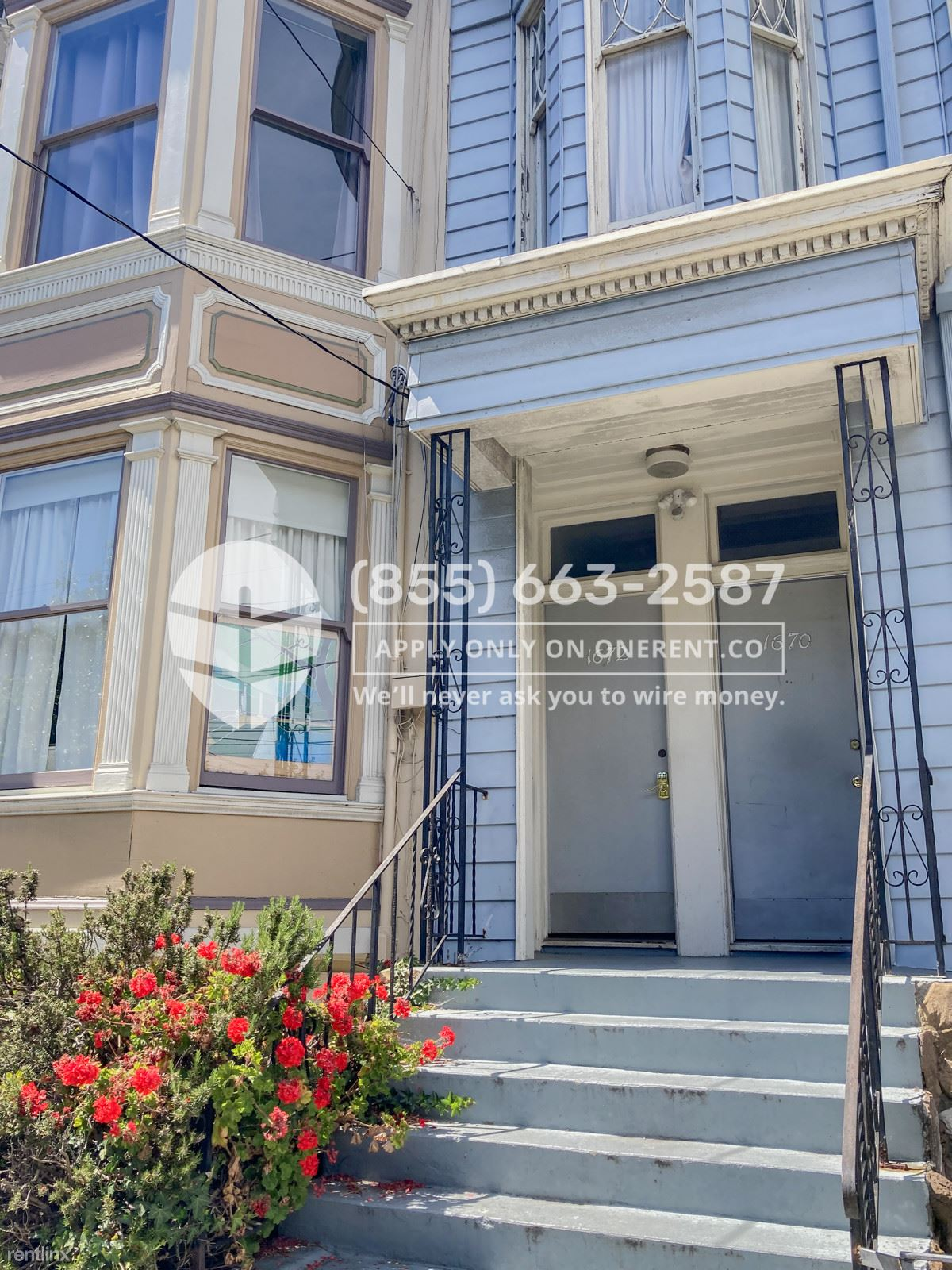 1672 Page Street, San Francisco, CA - $5,500