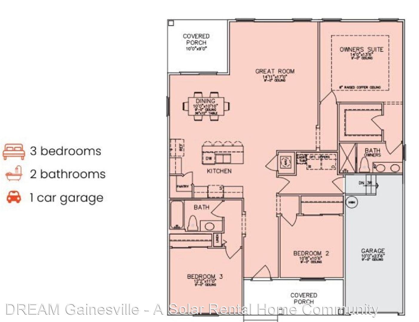 3583 NE 1ST DR, Gainsville, FL - $2,325