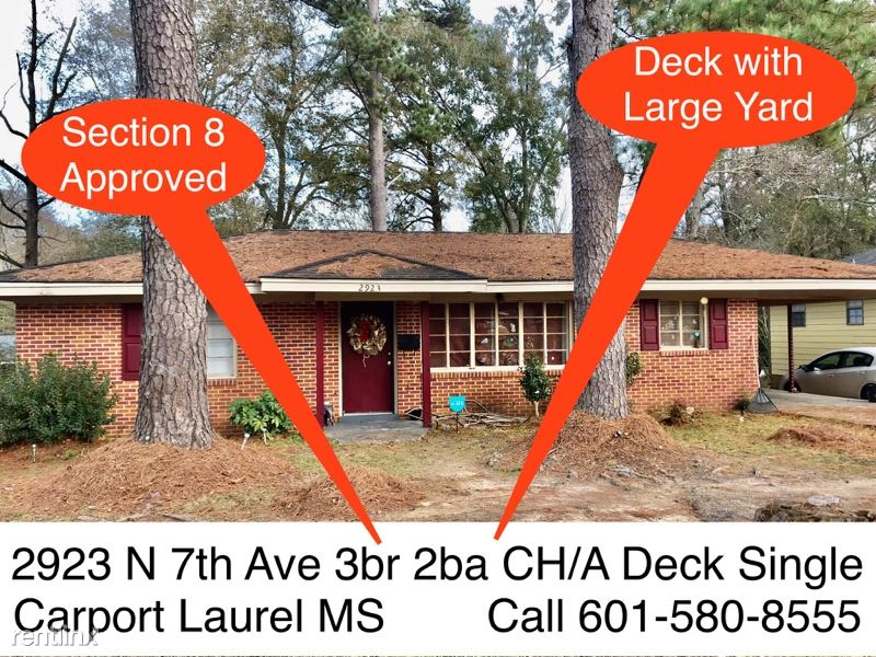 2923 N 7th Ave WeBuyHousesSwift.com, Laurel, MS - $1,095