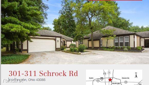 301- 311 Schrock Rd, Worthington, OH - $1,150