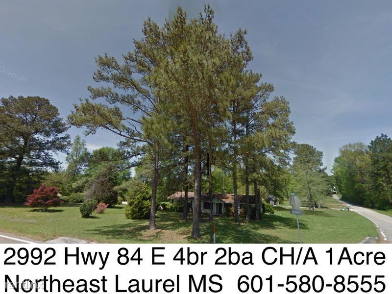 2992 Highway 84 E For Sale, Laurel, MS - $0