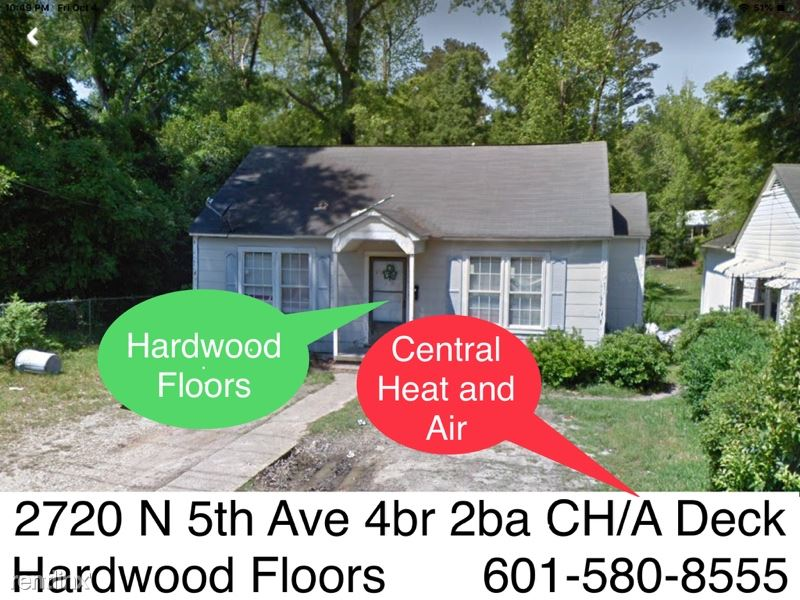 2720 N 5th Ave WeBuyHousesSwift.com, Laurel, MS - $1,195