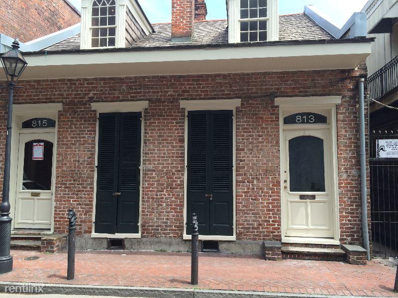 815 Toulouse Street Rear, New Orleans, LA - $1,475