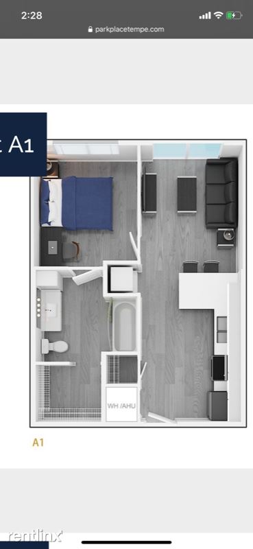 1317 S Terrace Rd 1328, Tempe, AZ - $1,562