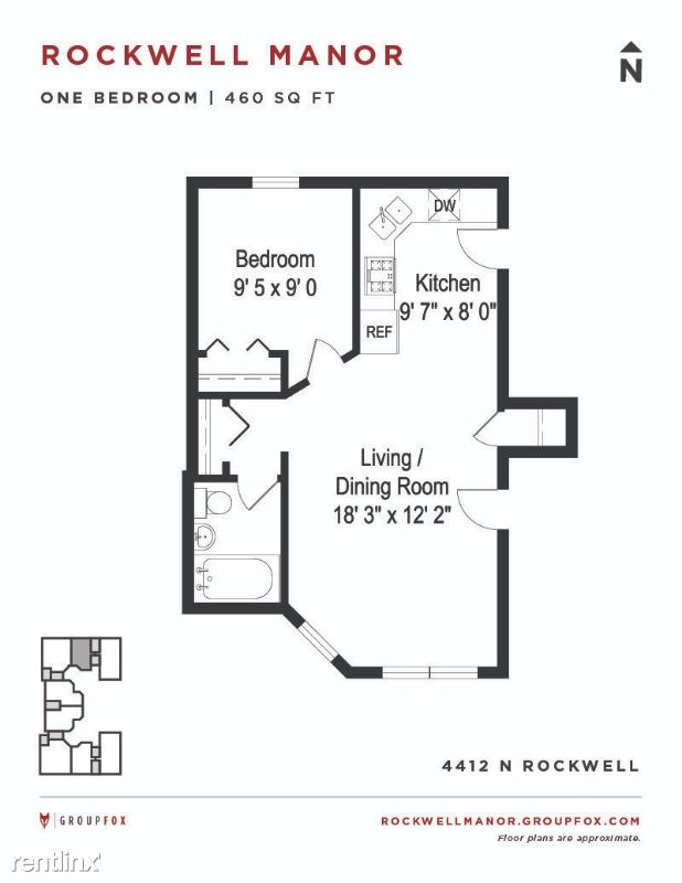 N. Rockwell, Chicago, IL - $1,415