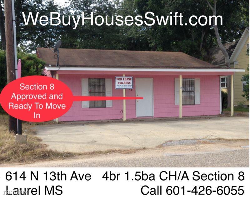 614 N 13th Ave, Laurel, MS - $1,095