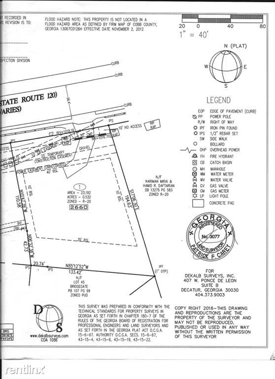 2660 Roswell Road, Marietta, GA - $2,030