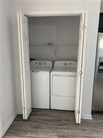 Washer & Dryer in Unit!