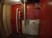 laundry hook up in basement