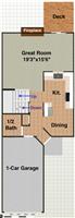3430 Bent Trail, 1st floor