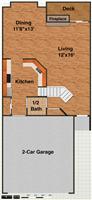 4326 Hillside, 1st floor