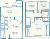 3-br Floorplan