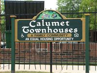 Calumet Apartments and Townhouses Property Sign