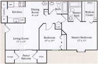 MAPLEVIEW FLOOR PLAN-2br
