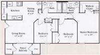 MAPLEVIEW FLOOR PLAN-3br