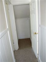 extra hall closet upstairs