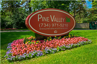 PV monument sign
