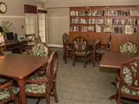If you like to read our library is the place to be!