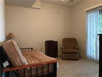 Lower level sleeping area