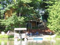 Back of home, view from lake