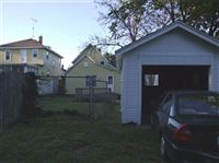 Back yard and carport