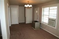 family or office room with back door