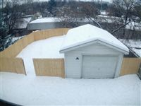 back yard in winter