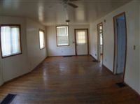 downstairs living room and dining room