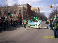 St Patricks Parade- We love our Residents!