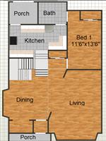 419 Hamilton, 1st floor