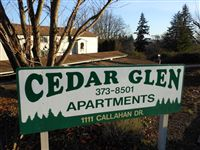Cedar Glen from Callahan Drive