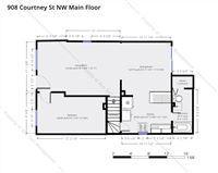 908 Courtney St NW Main Floor
