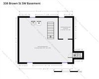 338 Brown St SW Basement