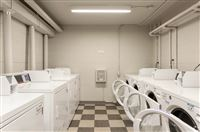 On-site laundry machines