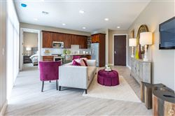The Walton - 2 Bed 2 Bath - Living Room and Kitchen
