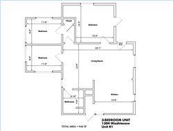 1304 Washtenaw #1 Floor Plan
