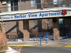 Harbor View entrance