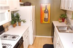 Townhome Model Kitchen