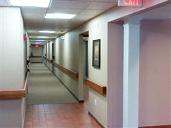 Newly Painted Halls
