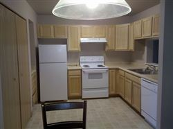 Kitchen with dishwasher and disposal