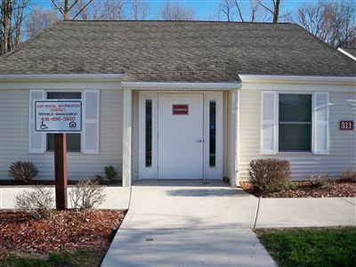 Community Room Entrance