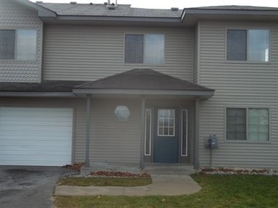 Townhomes offer private entrance and attached garage