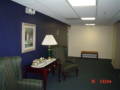 Second floor seating