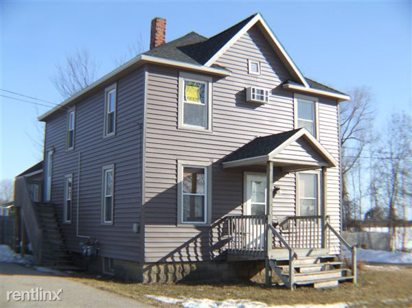 Front with new siding