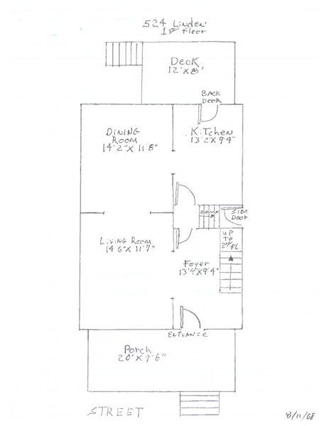 524 Linden - 1st Floor